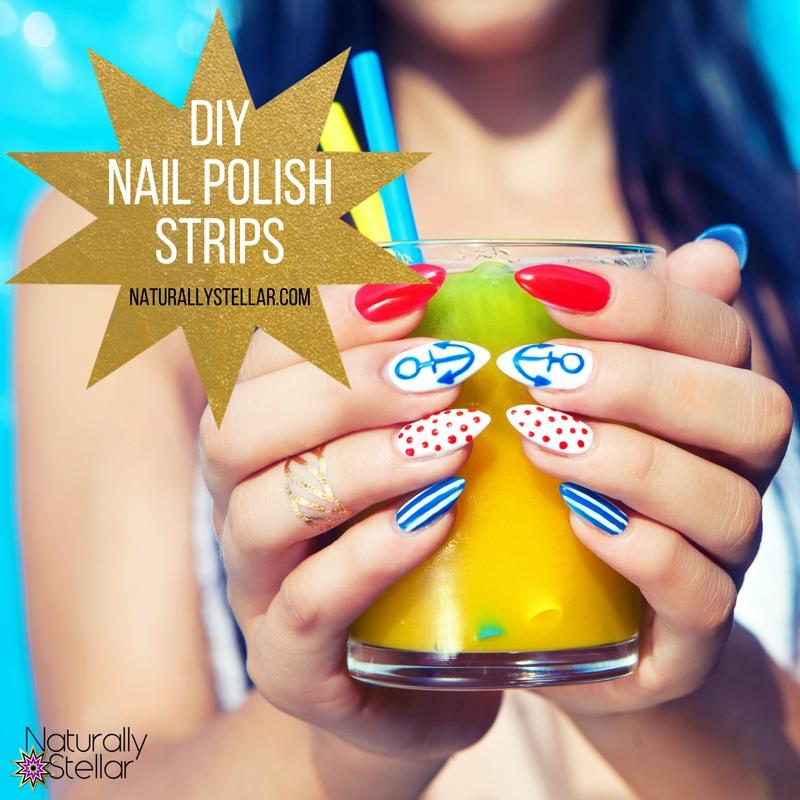 Diy Nail Polish Strips ‹� Naturally Stellar