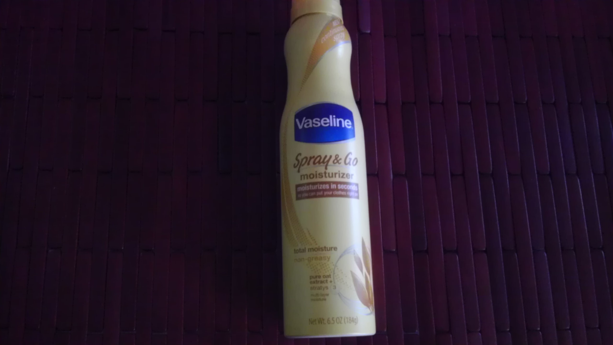 Vaseline. Influenster. Vox box. Spray Lotion.
