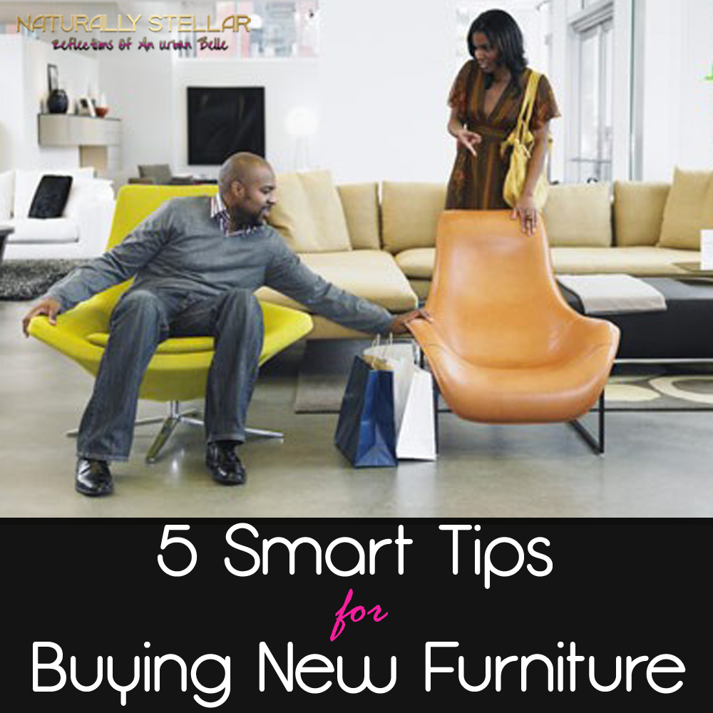 Five Smart Tips for Buying New Furniture