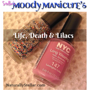 Moody Manicure, Manicure Mondays, Life Death and Lilacs