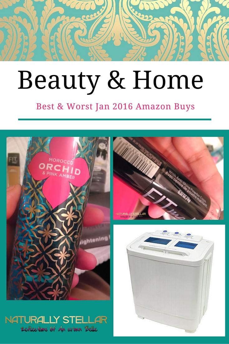Amazon Beauty and Home January 2016   Naturally Stellar