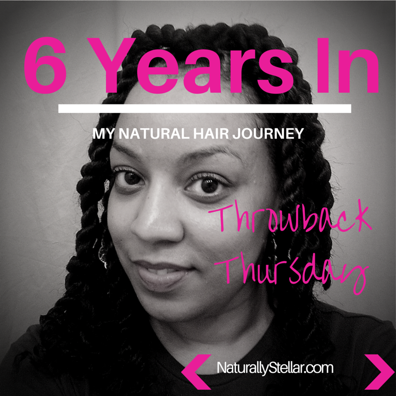 Where I was 6 Years Into My Natural Hair Journey back in 2001