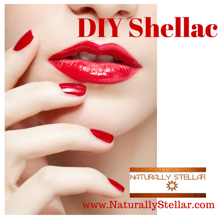 DIY Shellac Mani - At Home