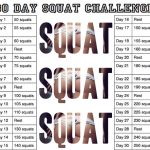 Stellar Joins The 30 Day Squat Challenge