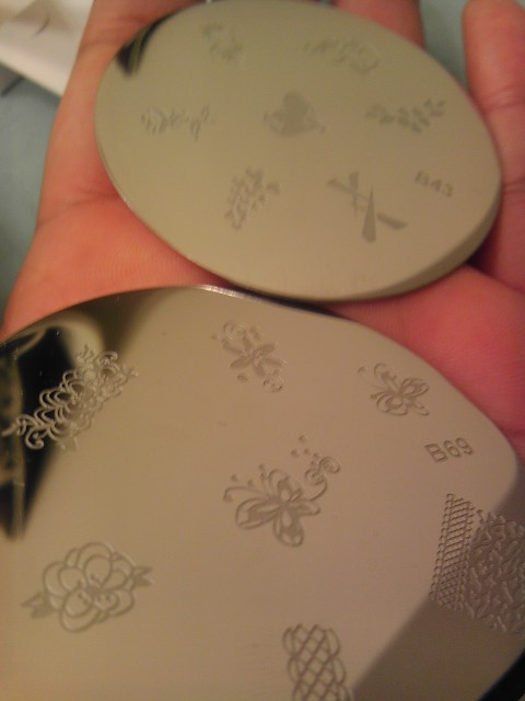 Fing'rs, Stamp Plate, Stamping Kit, Nail Art, Naturally Stellar, Beauty, Manicure, Moody Manicure, Nail Polish