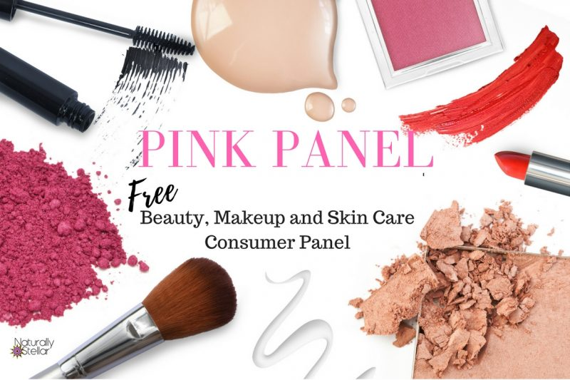 Pink Panel beauty, makeup and skincare consumer panel | Naturally Stellar