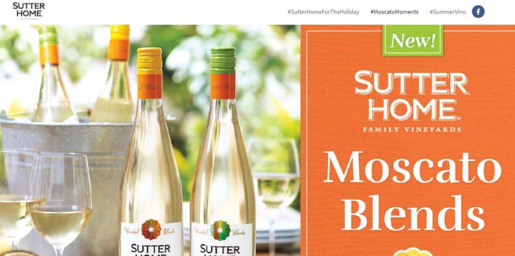 Sutter Home #MoscatoMoments Frozen Strawberry Lemonade Moscato | Naturally Stellar