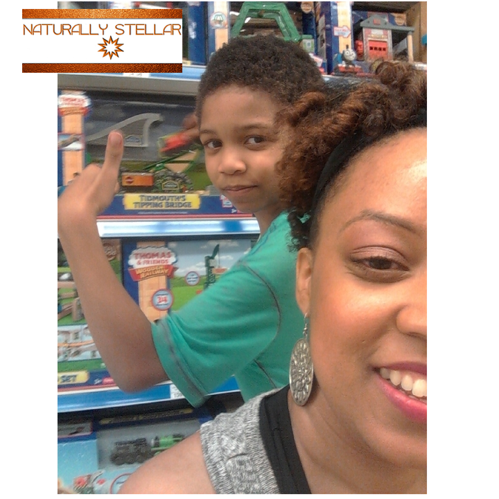 Mommy Son Date Selfie