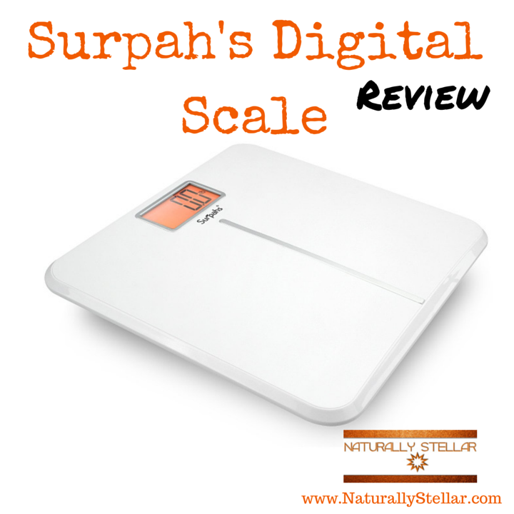 Surpahs White Wing Digital Scale