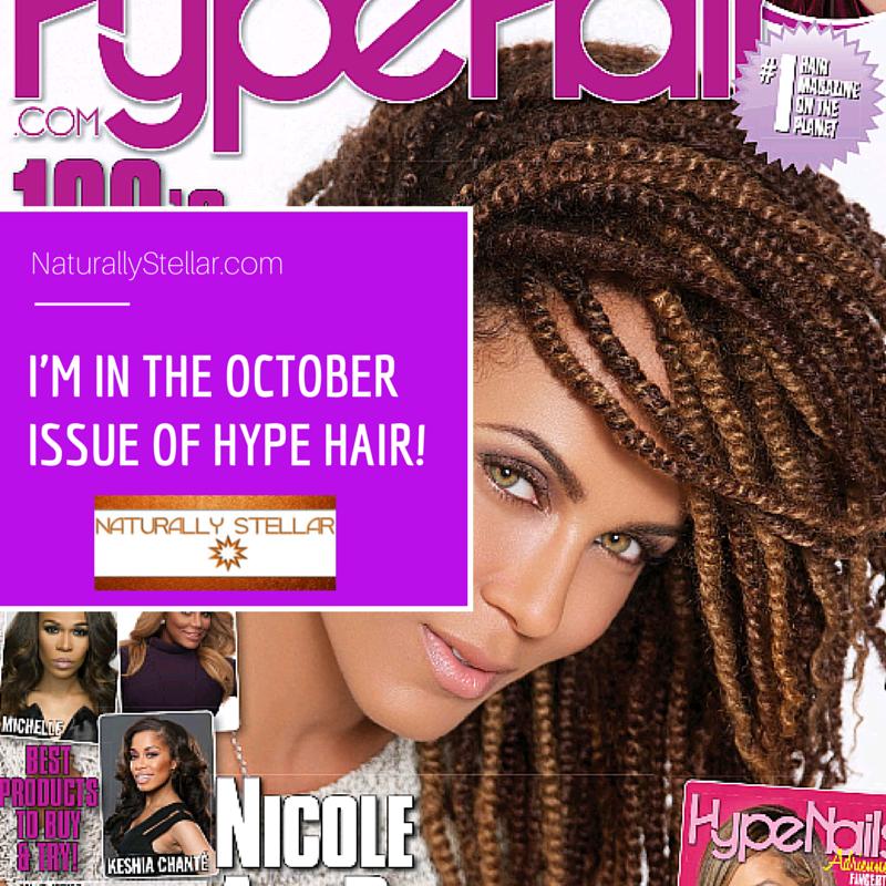 Hype Hair Blogger Cover