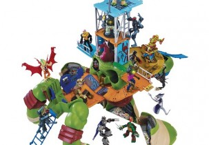 24 inch TMNT Donatello Playset| Urban Belle Holiday Gift Guide 2015