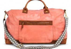 Coral Weekender Bag | 2015 Urban Belle Holiday Gift Guide