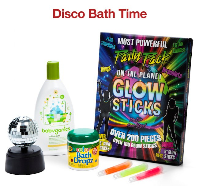 Disco Bath Time Wonderpack by Target   Naturally Stellar