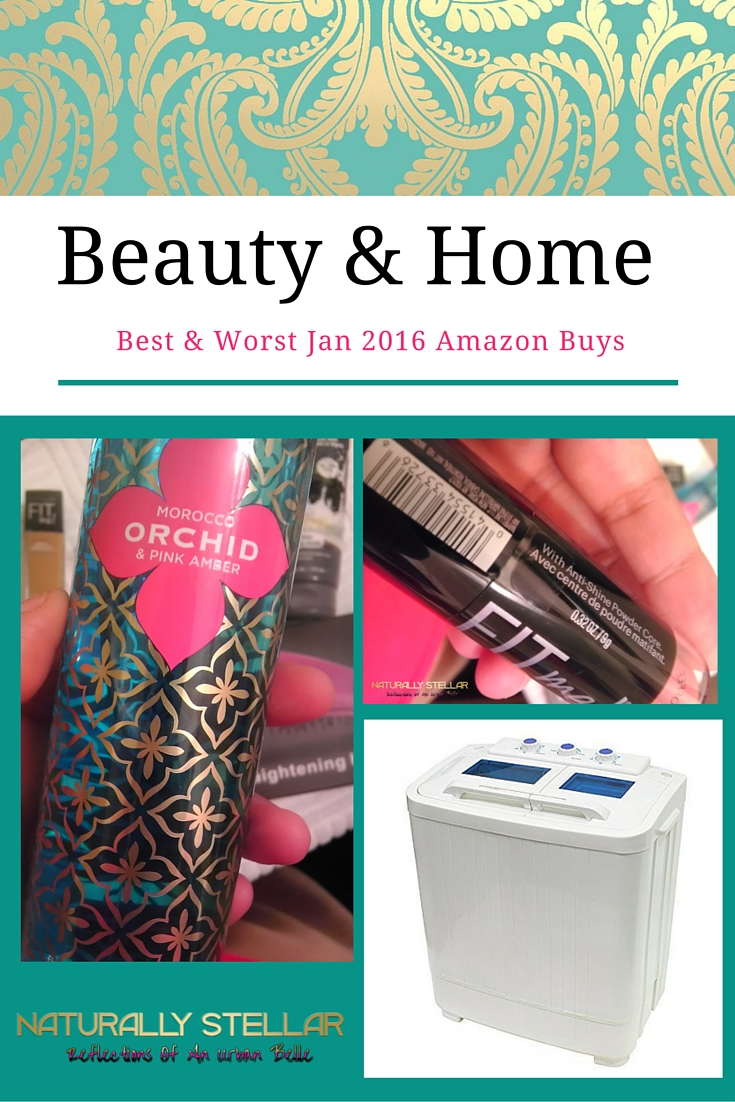 What I bought off Amazon Jan 2016 | Naturally Stellar