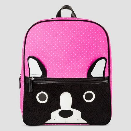 Girls' Backpack Handbags Cat & Jack™ -Pink Dogs