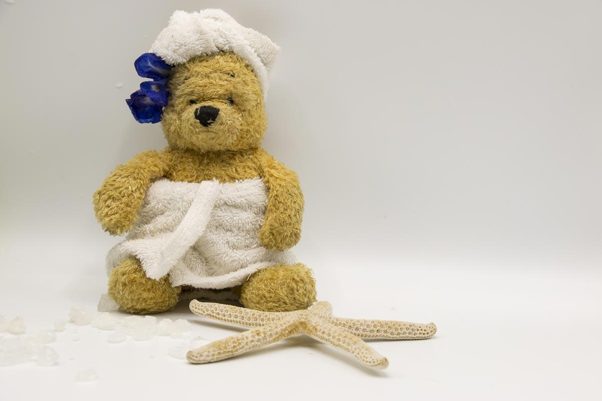 Teddy Bear Spa Day - Share A Bear | Naturally Stellar