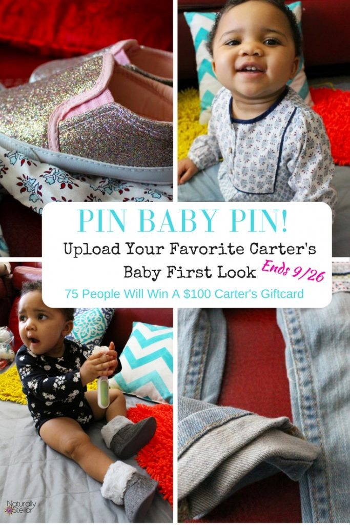 Carter's Baby Clothes Contest   Naturally Stellar