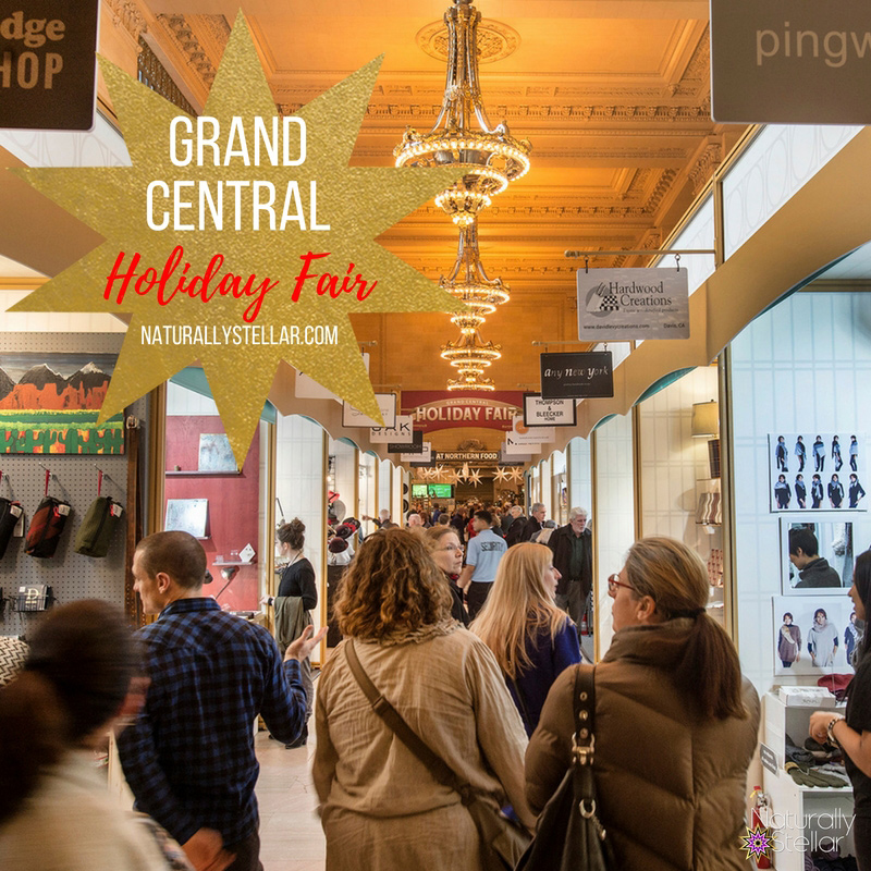 Grand Central Holiday Fair | Naturally Stellar