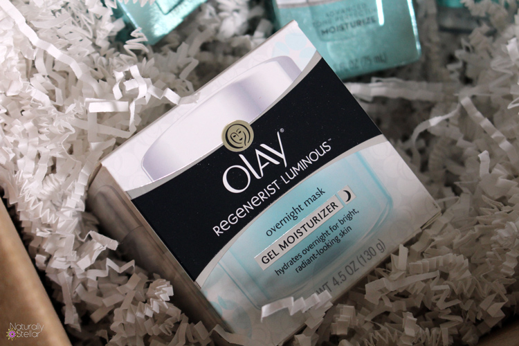 THE #OLAY28DAY CHALLENGE - Olay Luminous Gel Mask | Naturally Stellar
