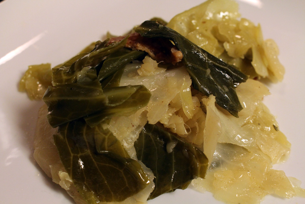 Delicious Butter Steamed Cabbage   Naturally Stellar