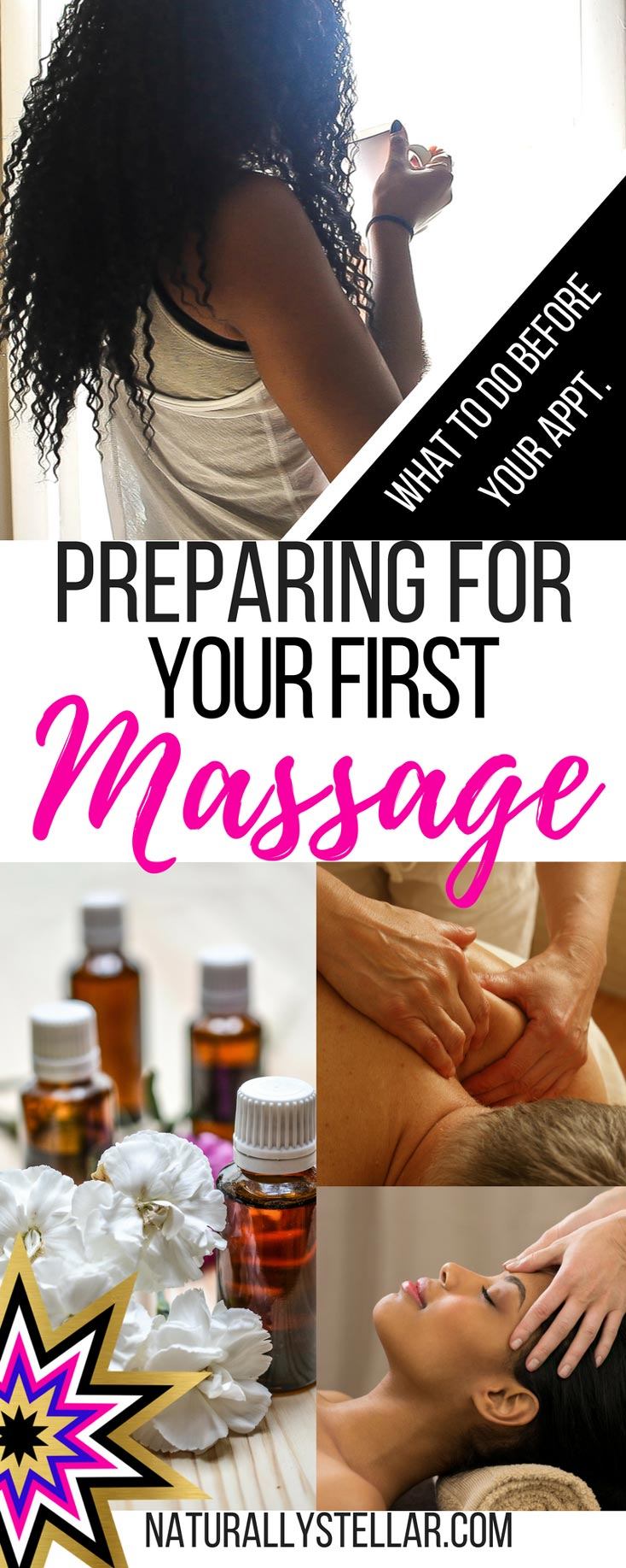 Preparing For Your First Massage   Naturally Stellar
